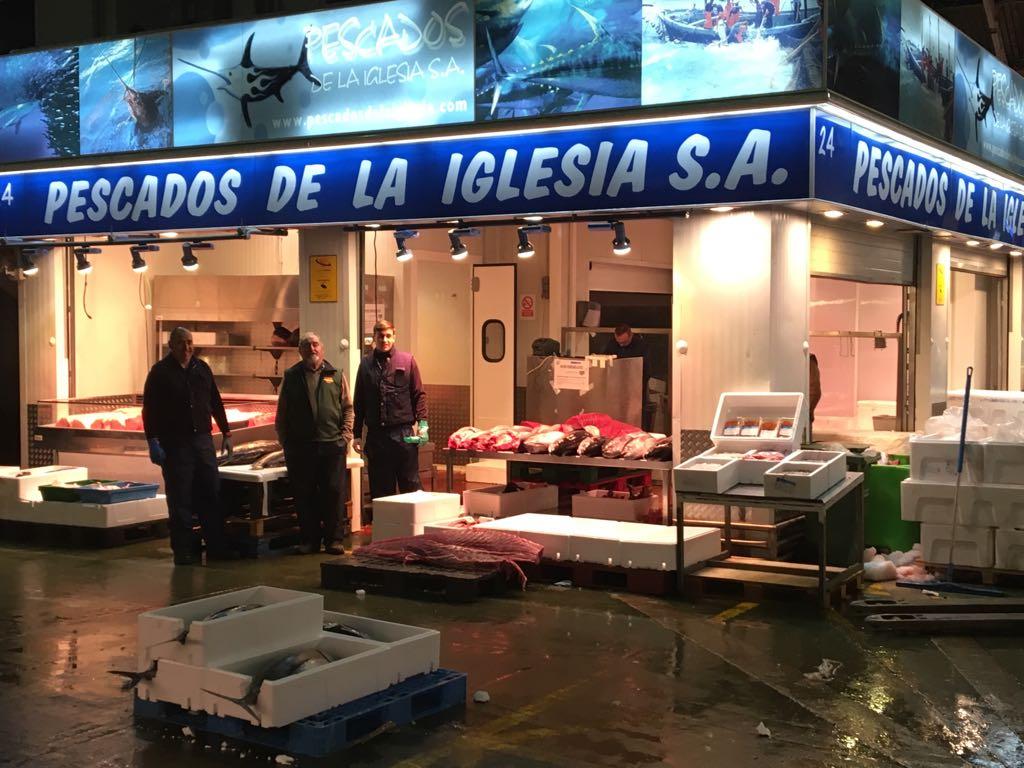 Mayoristas de pescado en Madrid - Pescados de la Iglesia